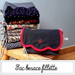 Sac besace fille