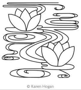 Karen-Hogan-Two-Water-Lilies