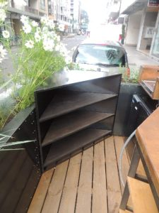 meuble d'angle exterieur