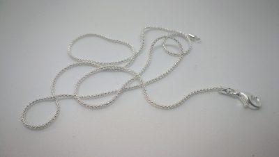 Colgante semipreciosa 20x15 con cadena