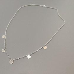 Colgante Medallitas Plata