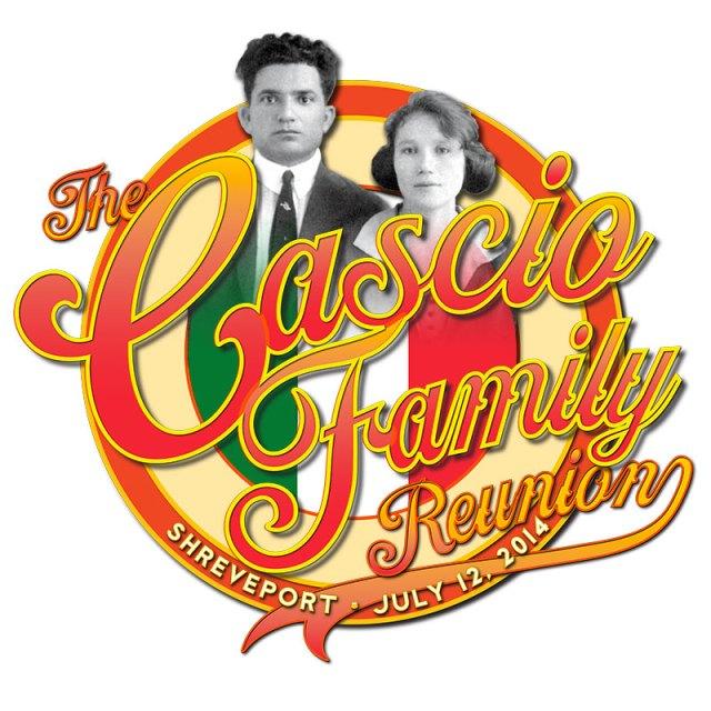 "The Cascio Family Reunion"" From Cefalu to Shreveport logo"
