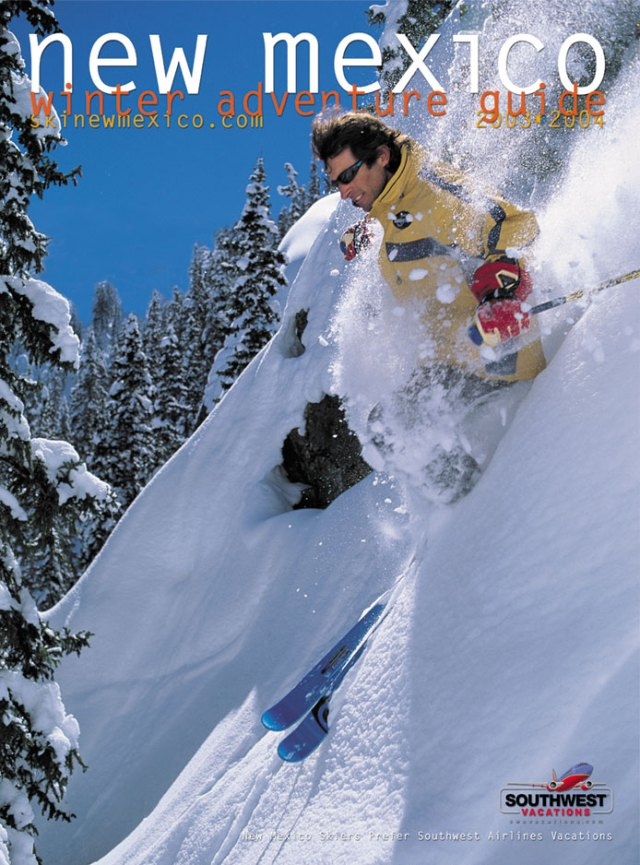 New Mexico Winter Adventure Guide brochure