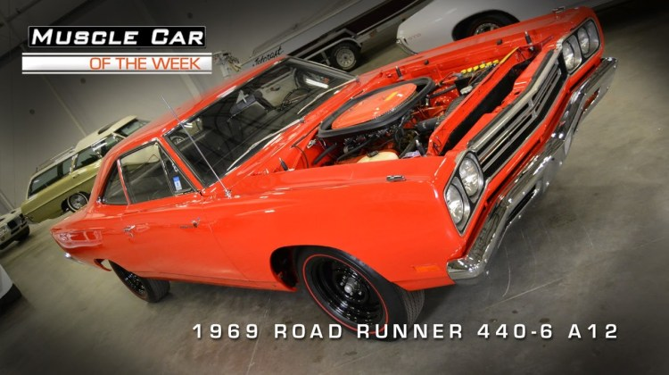 1969 Plymouth Road Runner 440 Six-Pack