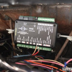 Dakota Digital Wiring Diagram Ez Go Powerwise Qe 48 Volt Charger Vhx Gauge Install And Review Chevelle53