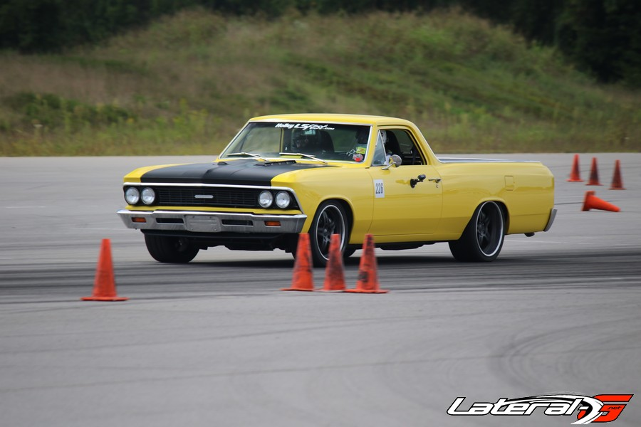 Herb Lumpp putting in work at the NCM Autocross!