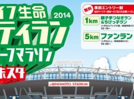 【レース報告】マニュライフ生命わくわくチャリティラン2014