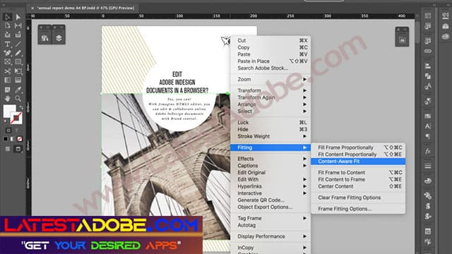 InDesign CC 2021 free download for windows full version
