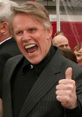 Gary Busey, toothy