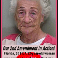 Woman, 92, Denied Kiss Fires Shots 92-Year-Old Faces Charges In Marion Co. WESH-TV Orlando, FL UPDATED 4:52 AM EDT Mar  22, 2011 OCALA,  Fla. —A 92-year-old woman was arrested on charges that she fired shots  into a home after a man inside denied her a kiss. Police said 53-year-old  Dwight […]