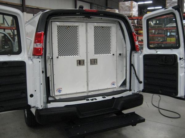 Van rear doors