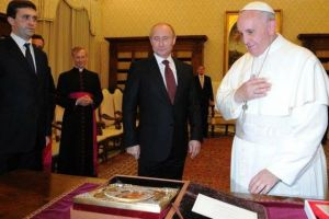 PopeFrancis & Putin