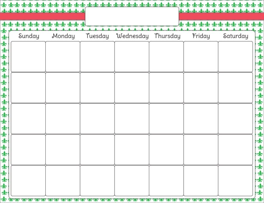 medium resolution of blank calendar clip art latest calendar