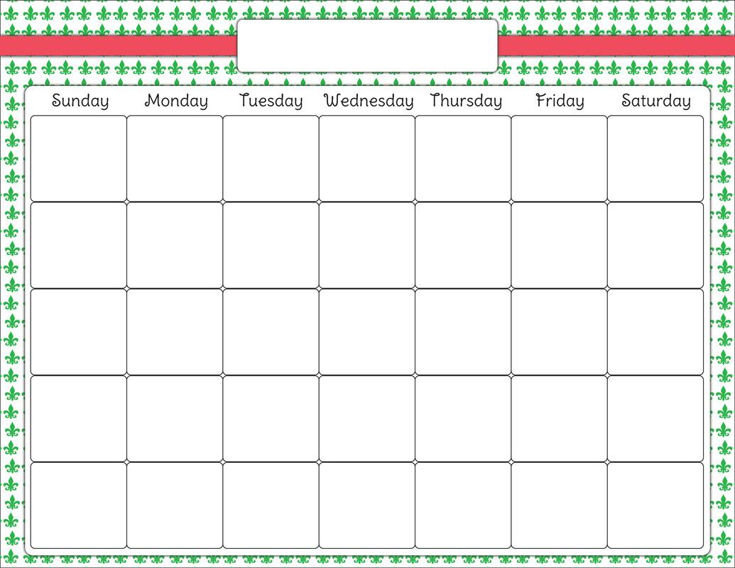 hight resolution of blank calendar clip art latest calendar