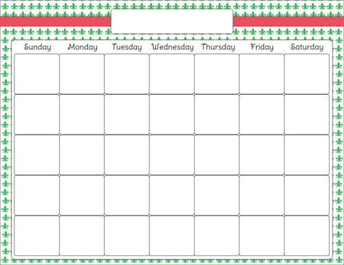 small resolution of blank calendar clip art latest calendar
