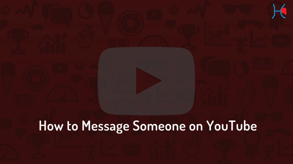 How to message someone on Yotube ?