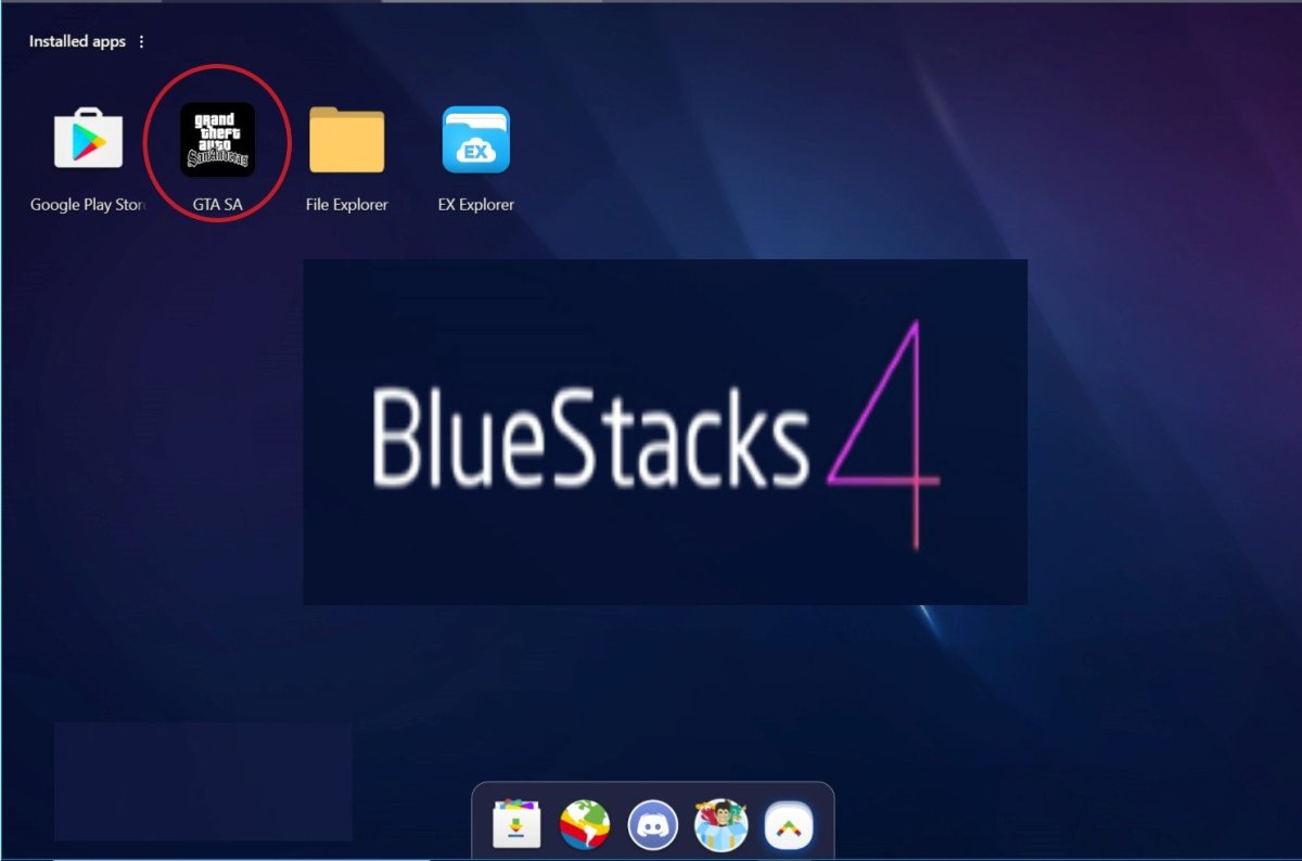 how to put obb files in bluestack