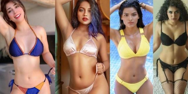 Bold Images of TV Actress in Bikini