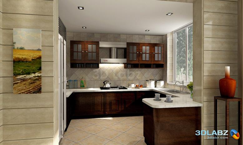 indian kitchen interior design  Free Wallpaper