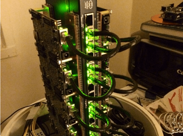 Build a supercomputer from Parallella boards