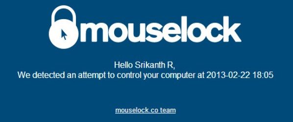mouselock_email_notification