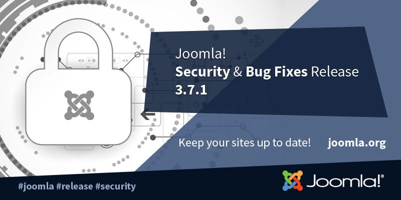 Joomla! fixed High Priority SQL Injection Vulnerability