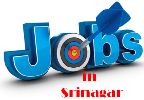 Jobs in Srinagar