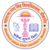 MGSU Bikaner Recruitment