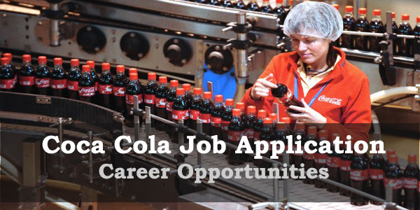 OPPOTUNUITY at Coca-Cola Apply Online 1