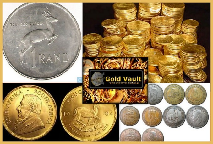 SELL ANY OLD SOUTH AFRICAN COINS/GOLD AND SA BANK NOTES HERE