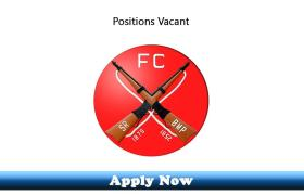 Jobs in Headquarter Frontier Corps South Kpk 2020 Apply Now