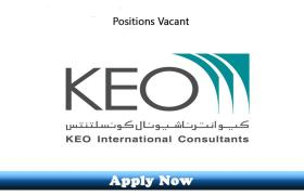 Jobs in KEO International Consultants 2019 Apply Now