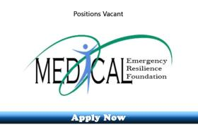 Jobs in Medical Emergency Resilience Foundation MERF KPK 2020 Apply Now