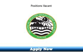 Jobs in Provincial Disaster Management Authority Punjab 2019 Apply Now