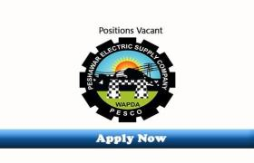 Position Vacant in Peshawar Electric Supply Company (PESCO) 2019 Apply Now