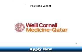 Jobs in Weill Cornell Medicine Qatar 2019 Apply Now