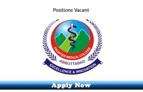 Jobs in Frontier Medical and Dental College Abbottabad 2020 Apply Now