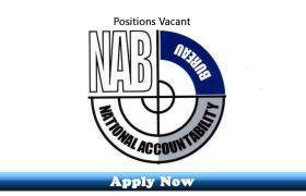Jobs in National Accountability Bureau NAB Islamabad 2020