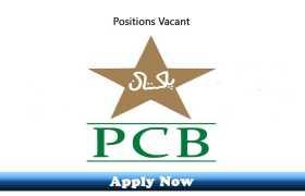 Jobs in Pakistan Cricket Board PCB 2020