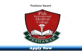 House Job Opportunities at Peshawar Institute of Medical Sciences Hayatabad Peshawar 2020
