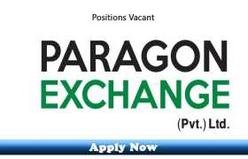 Jobs in Paragon Exchange Sialkot and Gujrat 2020 Apply Now
