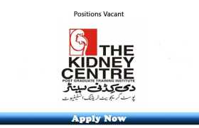 Jobs in The Kidney Center Post-Graduate Training Institute 2020 Apply Now