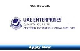 Jobs in UAE Enterprises LLC Dubai 2020 Apply Now