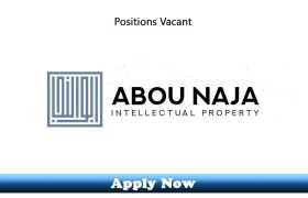 Jobs in Abou Naja Intellectual Property Dubai 2020 Apply Now