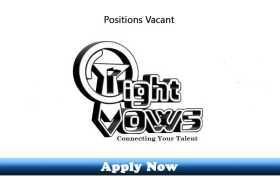 Jobs in RightVows FZE Dubai 2020 Apply Now