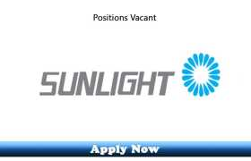 Jobs in Sunlight General Trading LLC Sharjah 2020 Apply Now