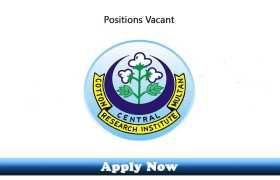 Jobs in Central Cotton Research Institute Multan 2020