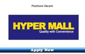 Jobs in HBK Hypermarket Peshawar 2020