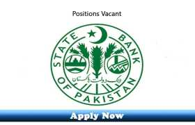 Female Doctor Required at State Bank of Pakistan 2020