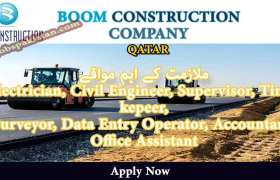 Jobs in Boom Construction Company 2020
